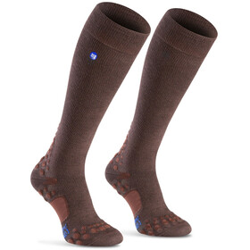 Compressport Care Running Socks brown